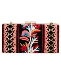 Shiraleah - Verna Embroidered Minaudiere - Lyst