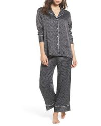 Natori   Labyrinth Satin Pyjamas   Lyst