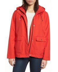 Bernardo - Microbreathable Hooded Raincoat - Lyst