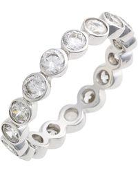 Judith Jack - Stackable Cubic Zirconia Bezel Ring - Lyst