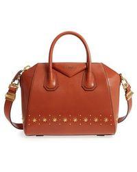 Givenchy - Small Antigona Star Embellished Leather Satchel - - Lyst
