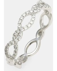 Bony Levy - Stackable Weave Diamond Ring (nordstrom Exclusive) - Lyst