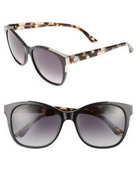 Juicy Couture | Shades Of 56mm Cat Eye Sunglasses | Lyst