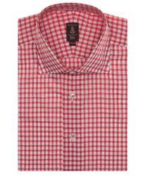 Robert Talbott | Tailored Fit Check Dress Shirt | Lyst