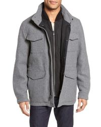Michael Kors - Regular Fit Double Layer Field Jacket - Lyst
