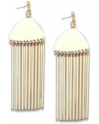 Lele Sadoughi - Comb Tassel Pendant Earrings - Lyst