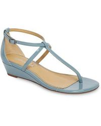 Splendid | Bryce T-strap Wedge Sandal | Lyst