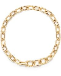 David Yurman - Dy Madison Bold Chain Bracelet In 18k Gold - Lyst