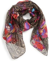 Etro - Delhy Floral Paisley Scarf - Lyst