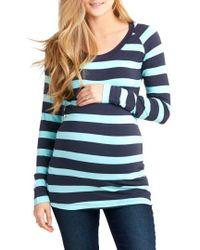 Nom Maternity - Phoebe Maternity Top - Lyst