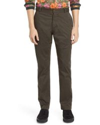 Descendant Of Thieves - Ransom Slim Fit Twill Pants - Lyst