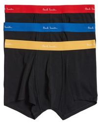 Paul Smith - 3-pack Assorted Square Cut Trunks - Lyst