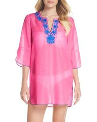 Lilly Pulitzer - Lilly Pulitzer Piet Cover-up - Lyst