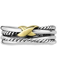 David Yurman - 'x Crossover' Ring - Lyst