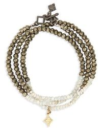 Armenta - Old World Triple Wrap Bead Bracelet - Lyst
