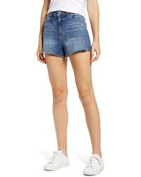 PAIGE Margot High Waist Cutoff Shorts
