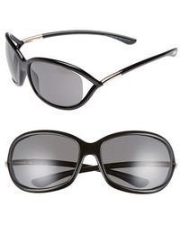 Tom Ford - Jennifer 61mm Polarized Open Temple Sunglasses - - Lyst