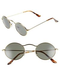 BP. - 48mm Small Oval Sunglasses - - Lyst
