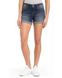 Mavi Jeans - Vanna Roll Cuff Shorts - Lyst