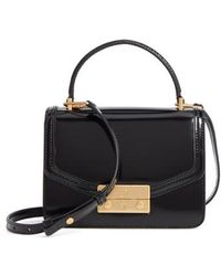 Tory Burch | Mini Juliette Leather Top Handle Satchel | Lyst