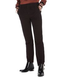 Scotch & Soda - Starry Jacquard Tailored Stretch Pants - Lyst