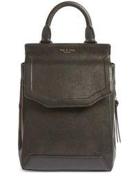 Rag & Bone - Small Pilot Ii Leather Backpack - Lyst