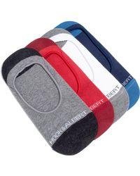 Hook + Albert - 4-pack Liner Socks, Red - Lyst