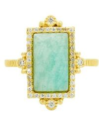 Freida Rothman | Amazonite Allure Cocktail Ring | Lyst