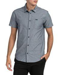 RVCA | Arrows Woven Shirt | Lyst
