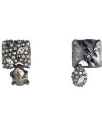 Alexis Bittar - Mismatched Stud Earrings - Lyst