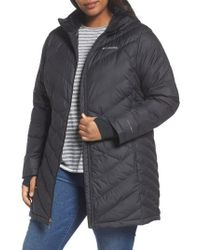 Columbia - Heavenly Water Resistant Insulated Long Hooded Jacket - Lyst