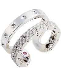 Roberto Coin - Symphony Double Pois Moi Diamond Ring - Lyst