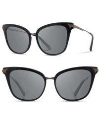 Shwood - Arlene 56mm Polarized Cat Eye Sunglasses - - Lyst