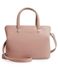 Longchamp - Le Foulonne Zip Around Leather Tote - Lyst
