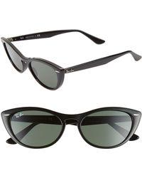 Ray-Ban - Nina 54mm Cat Eye Sunglasses - - Lyst