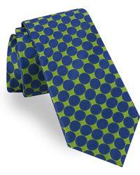 Ted Baker - Geometric Circle Silk Tie - Lyst