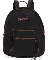 Jansport - Half Pint 2 Mini Faux Suede Backpack - Lyst