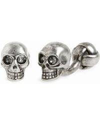 Alexander McQueen - Skull Cuff Links - Lyst