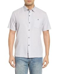 Tommy Bahama - Once In A Tile Regular Fit Sport Shirt - Lyst