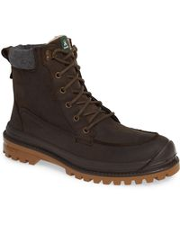 Kamik - Griffon2 Snow Waterproof Boot With Faux Shearling - Lyst