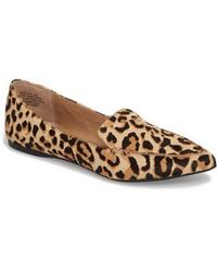 85be1aee14a04a Ted Baker Iveye Satin Slipper With Faux-Fur Pom in Pink - Lyst