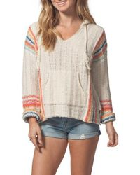 Rip Curl - Sedona Hooded Knit Pullover - Lyst
