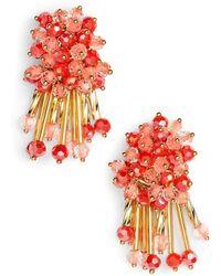 Kate Spade - Wrap It Up Cluster Stud Earrings - Lyst