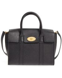 Mulberry - 'small Bayswater' Leather Satchel - Lyst