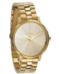 Nixon | 'the Kensington' Round Bracelet Watch | Lyst
