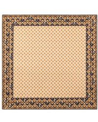 Gucci - Patterned Silk Pocket Square - Lyst