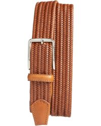 Martin Dingman - Lexington Braided Leather Belt - Lyst