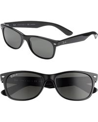 16a9910d93c Ray-Ban -  new Wayfarer  55mm Polarized Sunglasses - Lyst