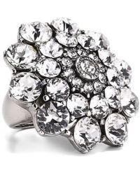 Oscar de la Renta - Swarovski Crystal Ring - Lyst