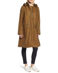 Barbour - Margaret Howell Water Resistant Waxed Cotton Poncho - Lyst